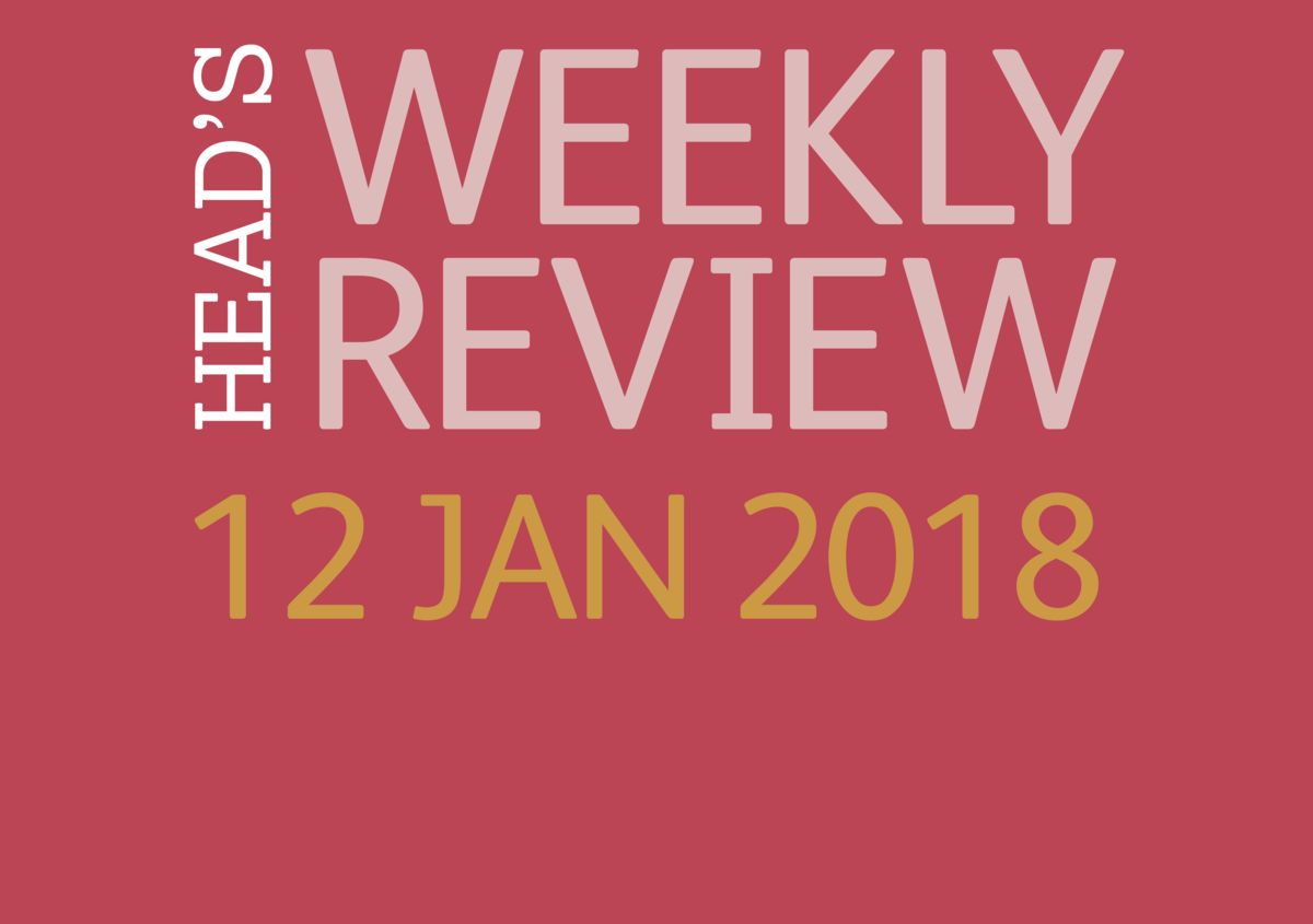 The Head's Weekly Review - Spring Issue 2