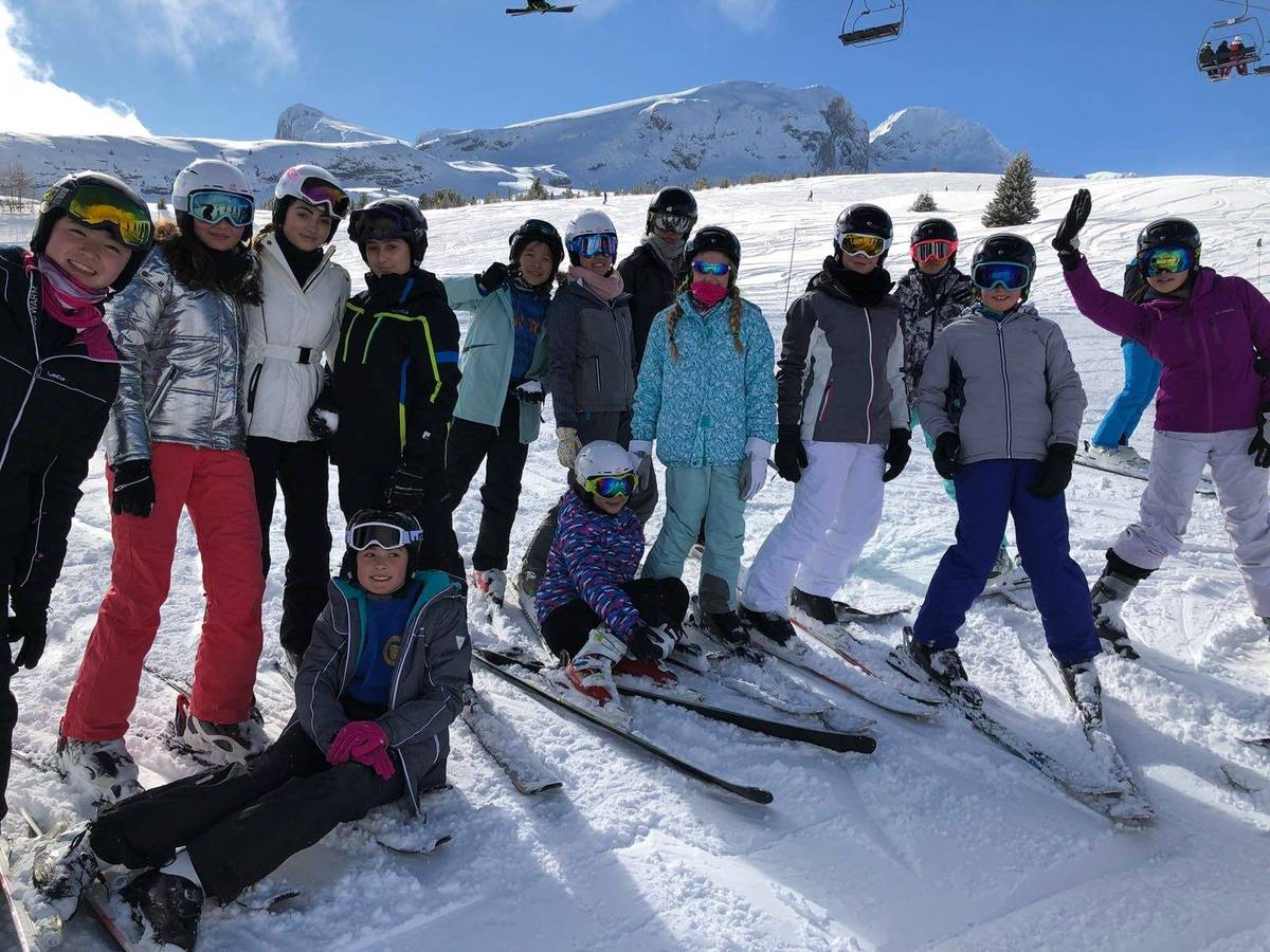 Half-term skiing
