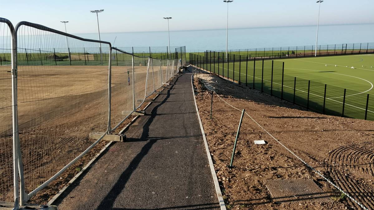 Our All-Weather Pitch is almost a reality!