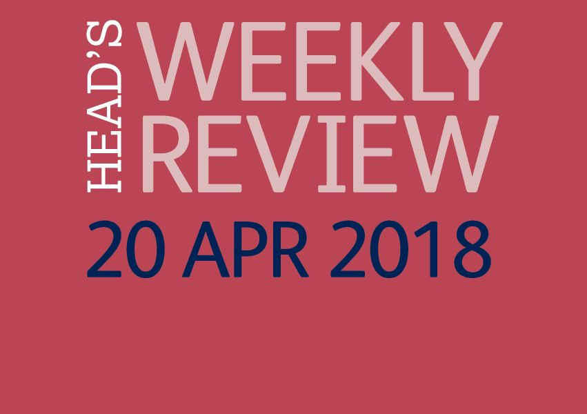 The Head's Weekly Review - Summer Issue 1