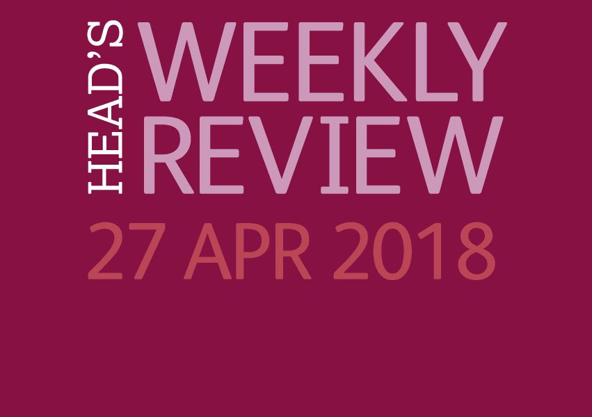 The Head's Weekly Review - Summer Issue 2
