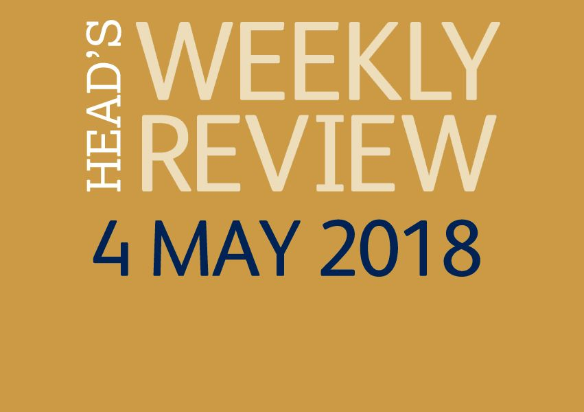 The Head's Weekly Review - Summer Issue 3
