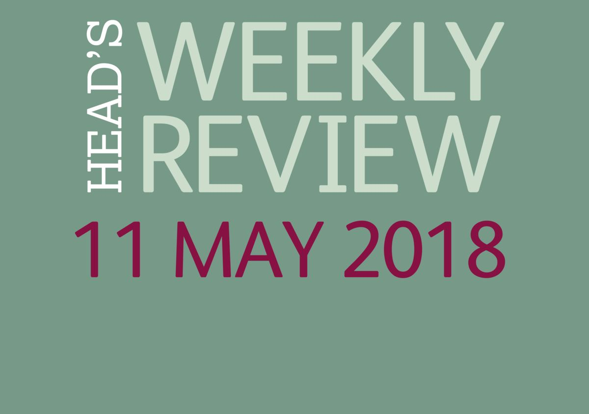 The Head's Weekly Review - Summer Issue 4